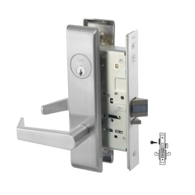 Yale 8847FL Apartment Corridor Door Mortise Lever Lock