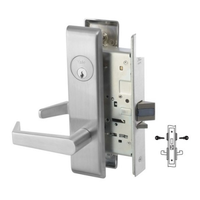 Yale 8860-2FL Store Door Mortise Lever Lock