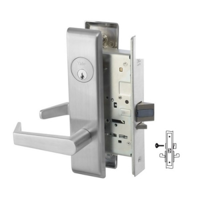 Yale 8862FL Privacy, Bedroom or Bath Mortise Lever Lock